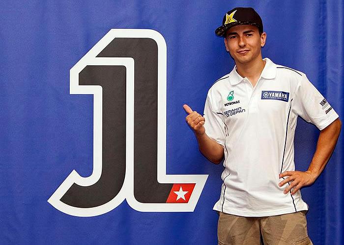 Lorenzo desvela el diseño del '1' que lucirá su moto