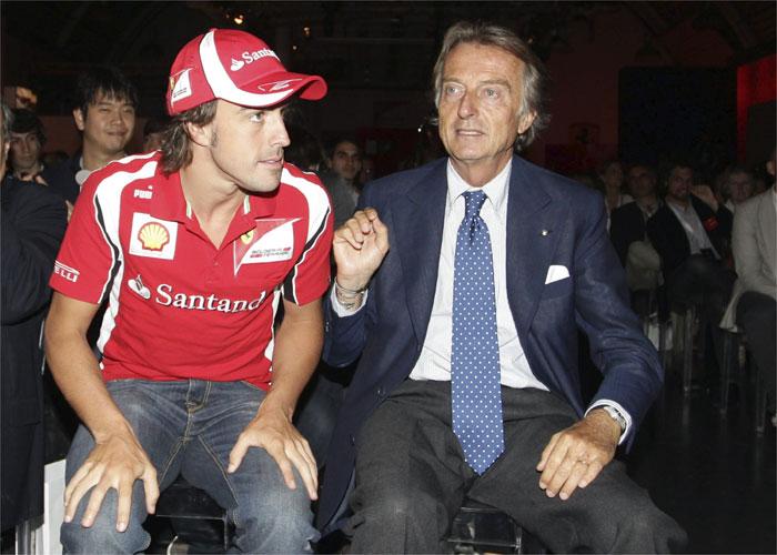 """Montezemolo: """"Alonso hizo buena temporada sin coche"""""""