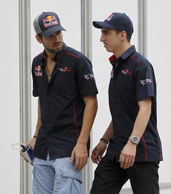 Buemi reserva de Red Bull y Alguersuari descarta HRT