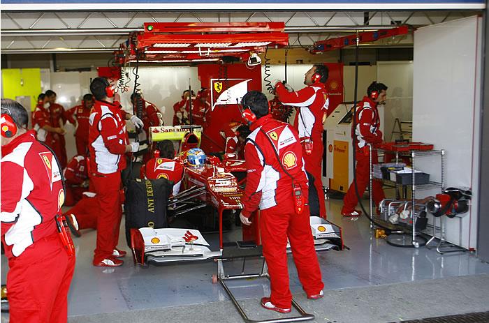 Alonso necesita rodar