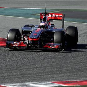 Grosjean, mejor crono de la jornada en Montmeló
