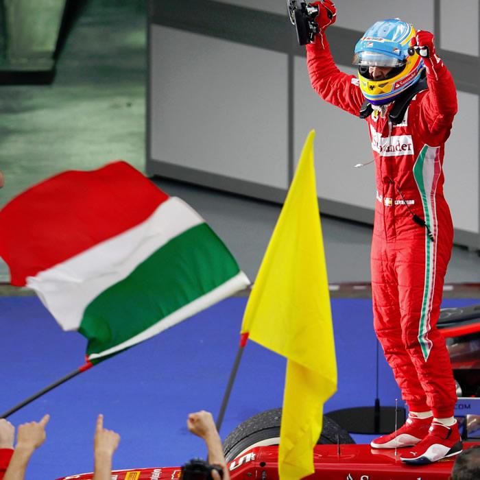 """Alonso: """"Será un domingo que recordaremos"""""""
