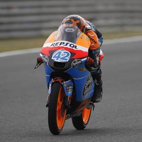 Alex Rins da la sorpresa y logra la 'pole' de Moto3