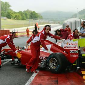 El 'Efecto Coanda' puede ser la clave para Ferrari