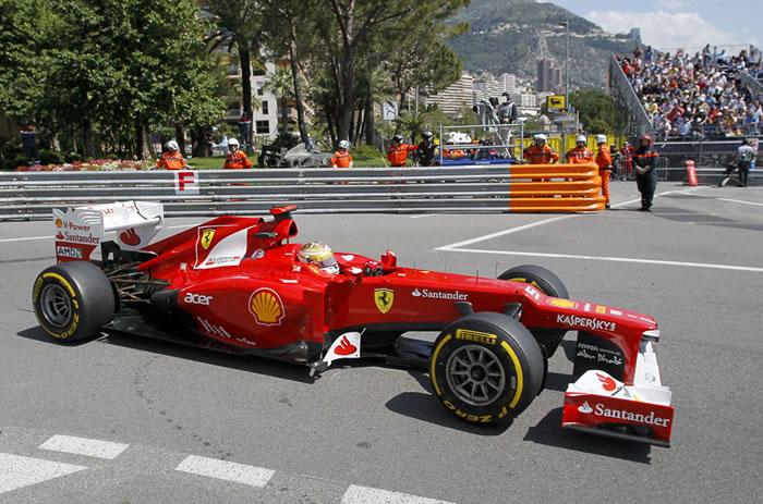 Alonso ya puede luchar por la pole en Mónaco
