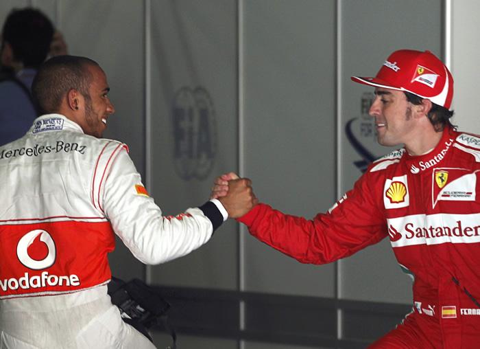 """Hamilton: """"Alonso no me sorprende, es el mejor"""""""