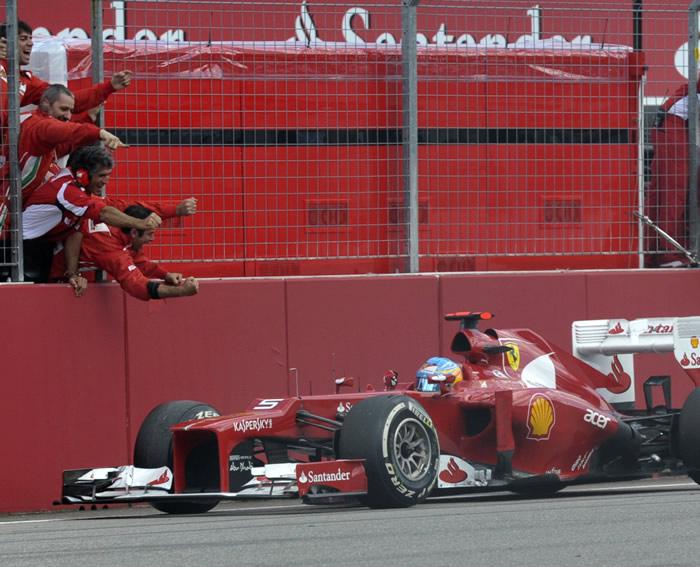 En Alonso se puede confiar