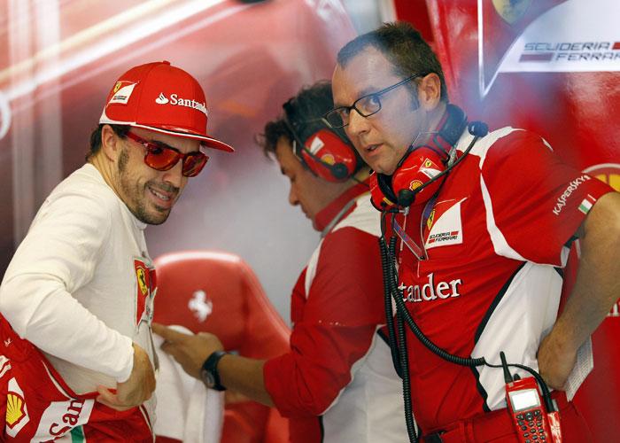 """Domenicali: """"El coche de Alonso sufrió graves daños"""""""