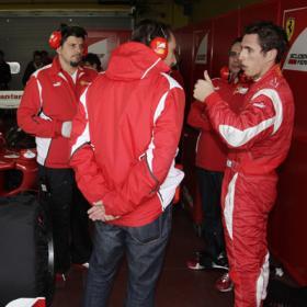 Juncadella dos horas de ensueño con Ferrari