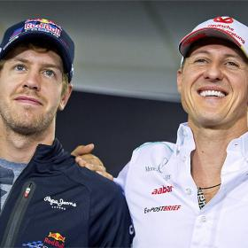 Schumacher: &quot;Estoy orgulloso de lo que ha conseguido Vettel&quot;