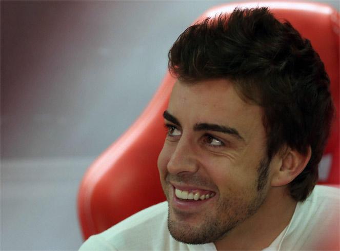 """Alonso, insiste: """"A Hamilton sería imposible derrotarlo"""""""