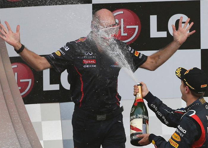 Así es Adrian Newey, el 'padre' del coche campeón de Vettel