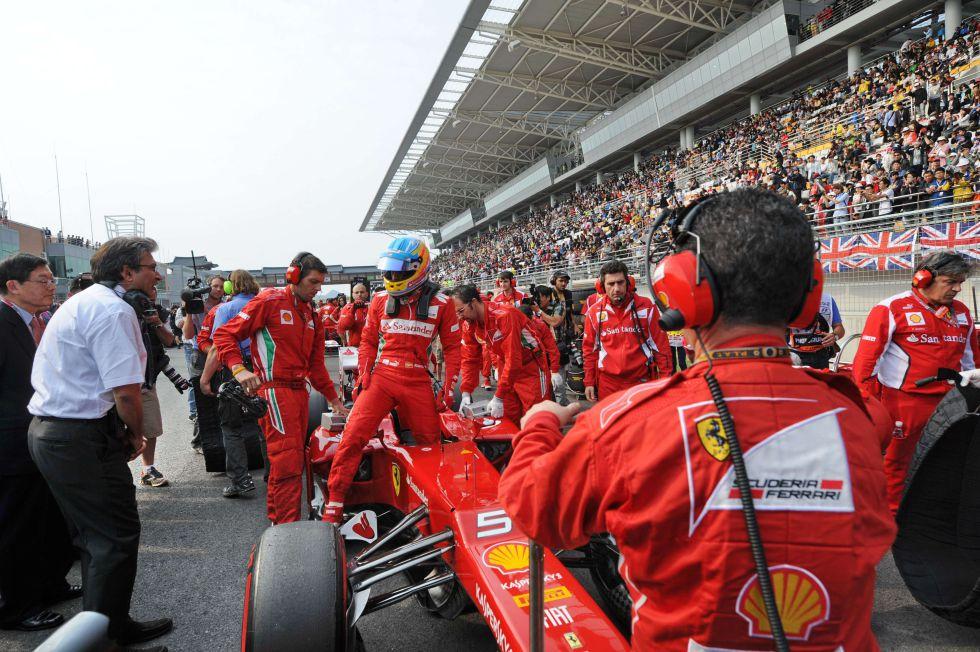 Pat Fry reconoce la lentitud del Ferrari de Fernando Alonso