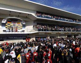 El GP de EEUU busca fecha para no 'pisar' al fútbol americano