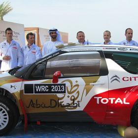 Citroën se presenta en Abu Dhabi con Dani Sordo