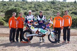 Coma est listo para el Dakar
