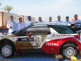 Citroën se presenta en Abu Dhabi con el español Dani Sordo