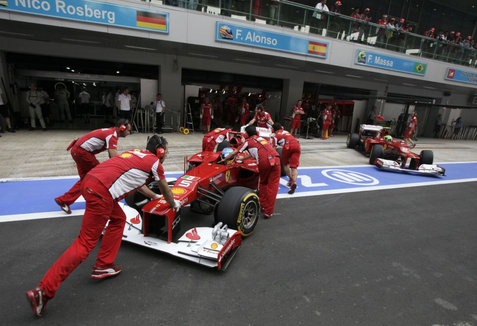 "Michael: ""McLaren, Red Bull y Ferrari mandarán en 2013"""