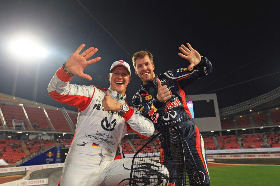 Vettel y Schumacher ganan por sexto año la Copa de Naciones