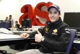 """Márquez """"Aún no estoy listo para luchar con los mejores"""""""