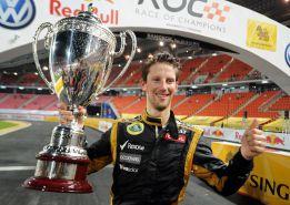 Grosjean gana la Carrera de Campeones en Bangkok