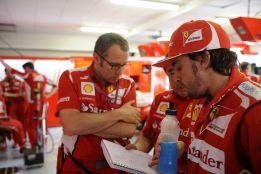 Ferrari reorganiza su estructura para trabajar en 2013 y 2014