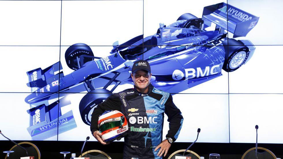 Rubens Barrichello deja la Indy para volver a correr a su país