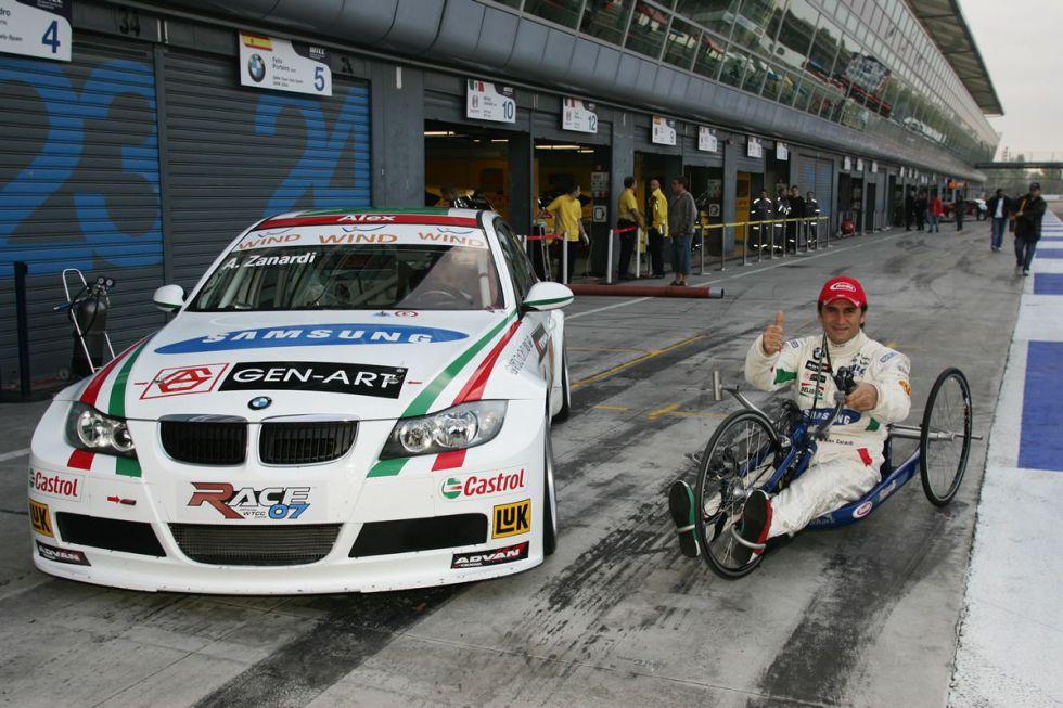 Alex Zanardi renuncia a pilotar un BMW en el DTM de 2013