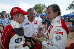 Loeb reconoce que le gustaría correr algún día en el Dakar