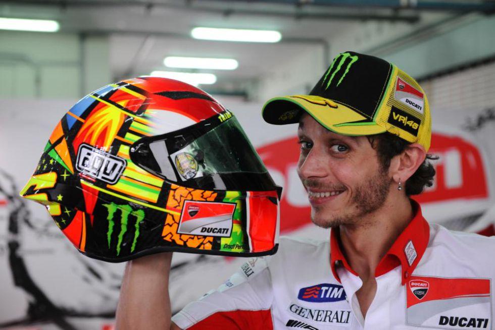 Capirossi ve a Rossi ganando de nuevo con la Yamaha MotoGP