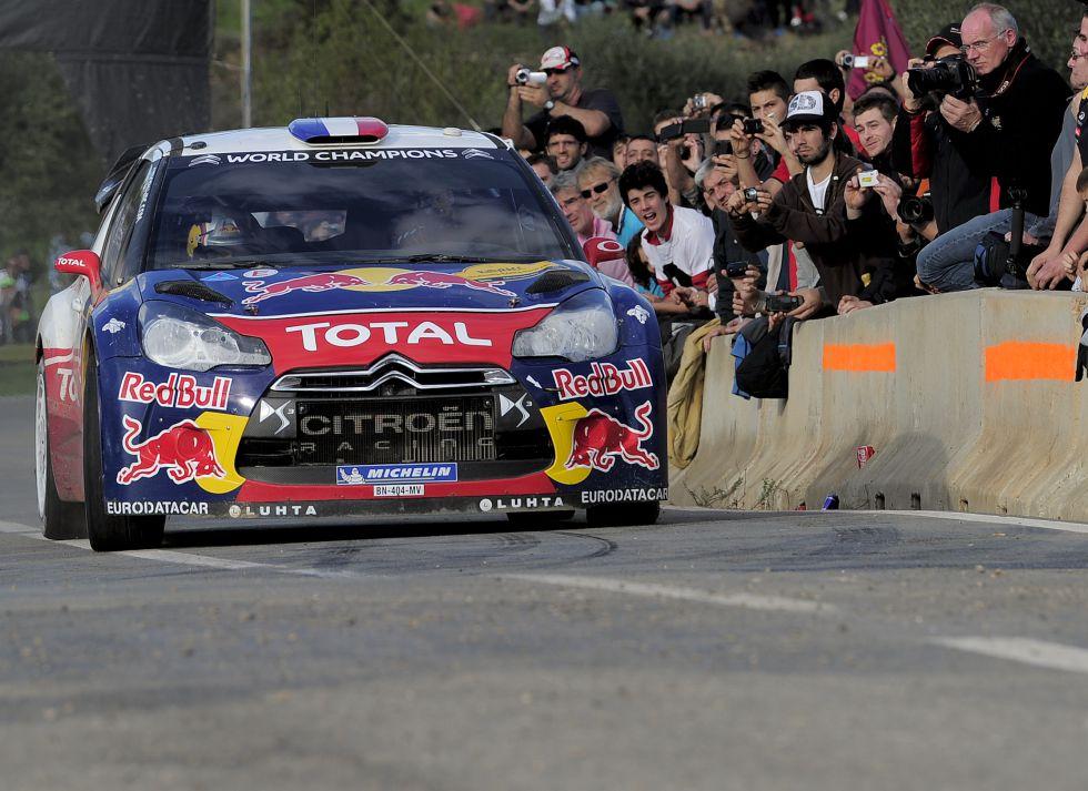 El gran Sebastien Loeb se despide con su mejor temporada