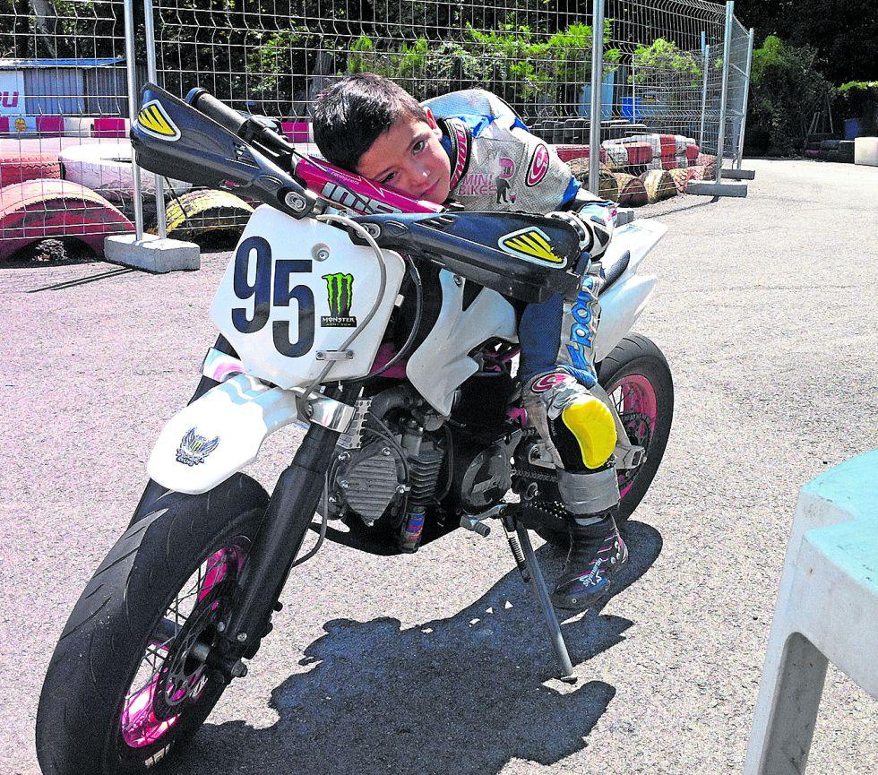 Marco Morelli campeón de España con tan solo 5 años