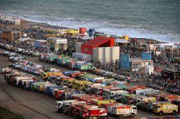 Lima dio la partida por primera vez al rally Dakar