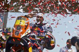 'Chaleco' López gana la primera etapa del Dakar; Despres, quinto