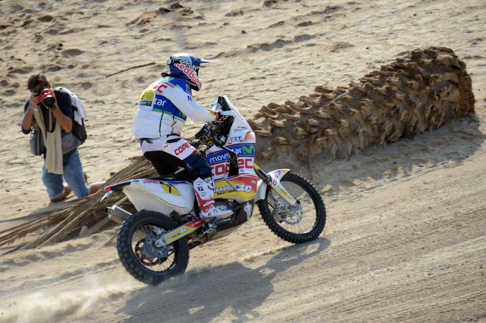 Chaleco López gana la etapa; Despres, tercero, nuevo líder