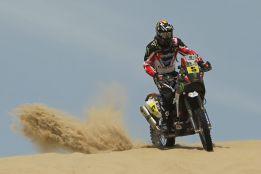 Barreda reacciona a lo grande en la cuarta etapa del Dakar