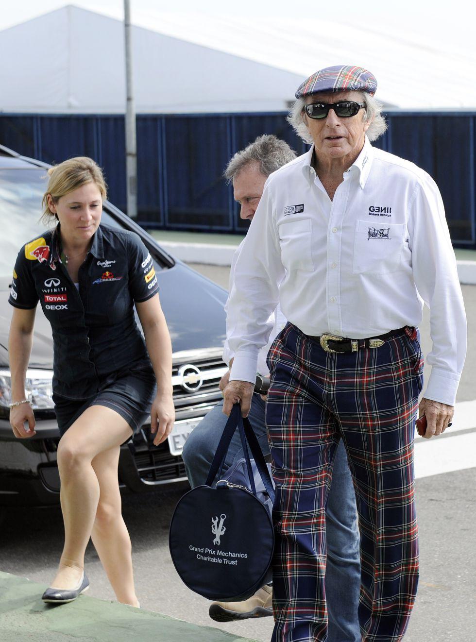 Jackie Stewart apoya a Lewis Hamilton en su paso a Mercedes