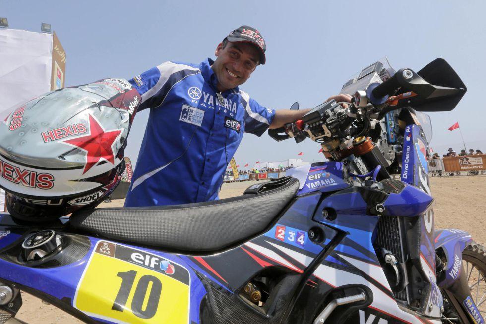 Casteu gana la quinta etapa pero Pain mantiene el liderato