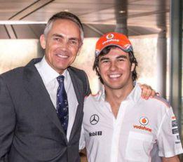 """Sergio Pérez: """"Quiero ganar a Button y el campeonato"""""""