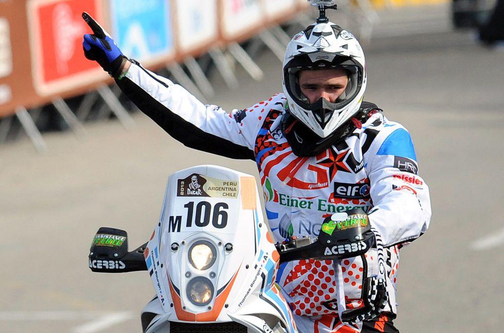 Muere el motociclista francés Thomas Bourgin en el Dakar