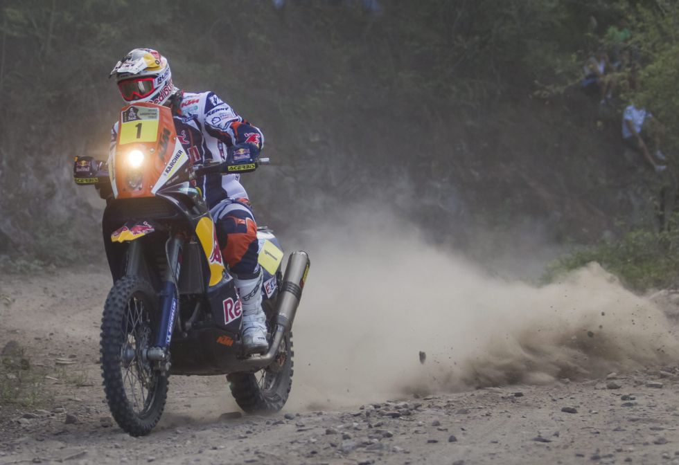 Despres gana la novena etapa y el portugués Faria se pone líder