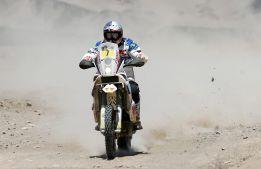 'Chaleco' López gana la etapa, pero no desbanca a Despres