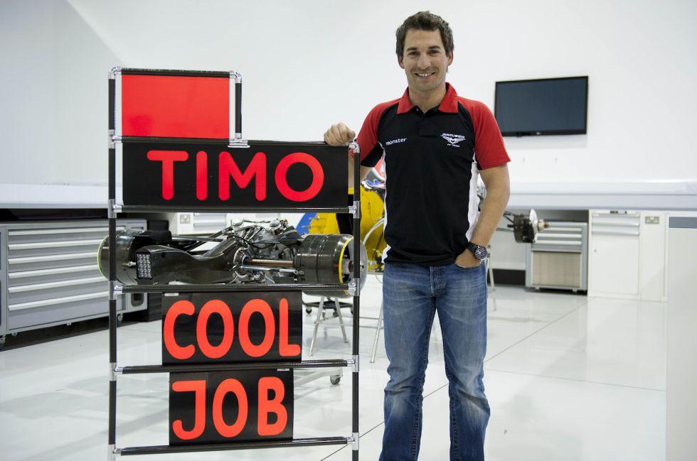 Timo Glock no correrá con Marussia en la F-1 de 2013