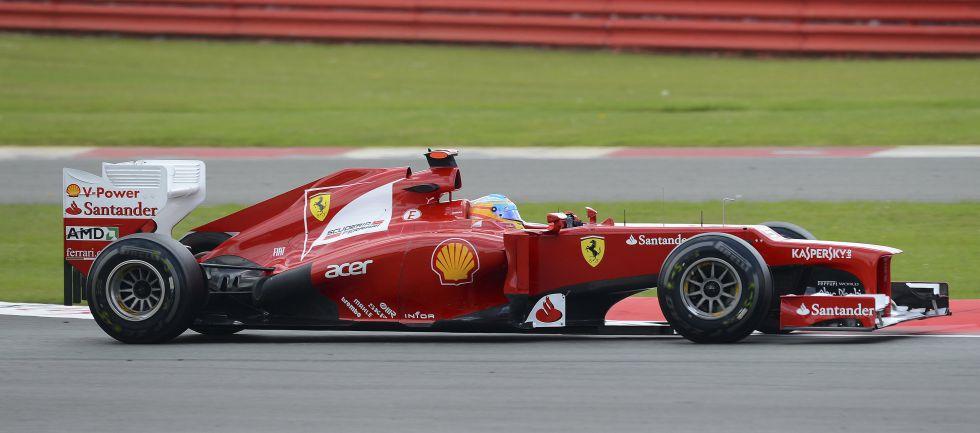 Ferrari se centra en dos apartados: suspensión y escapes
