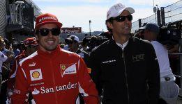Alonso no estará en Jerez, pero De la Rosa debutará con Ferrari