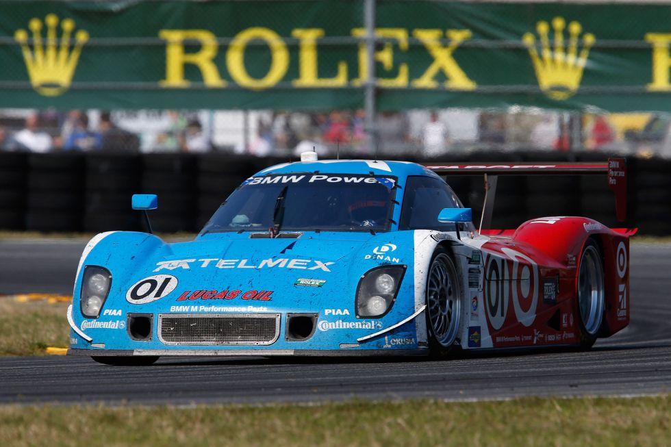 Antonio García termina quinto en la victoria de Montoya y BMW
