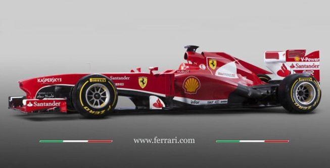 Ferrari presentó el nuevo F138