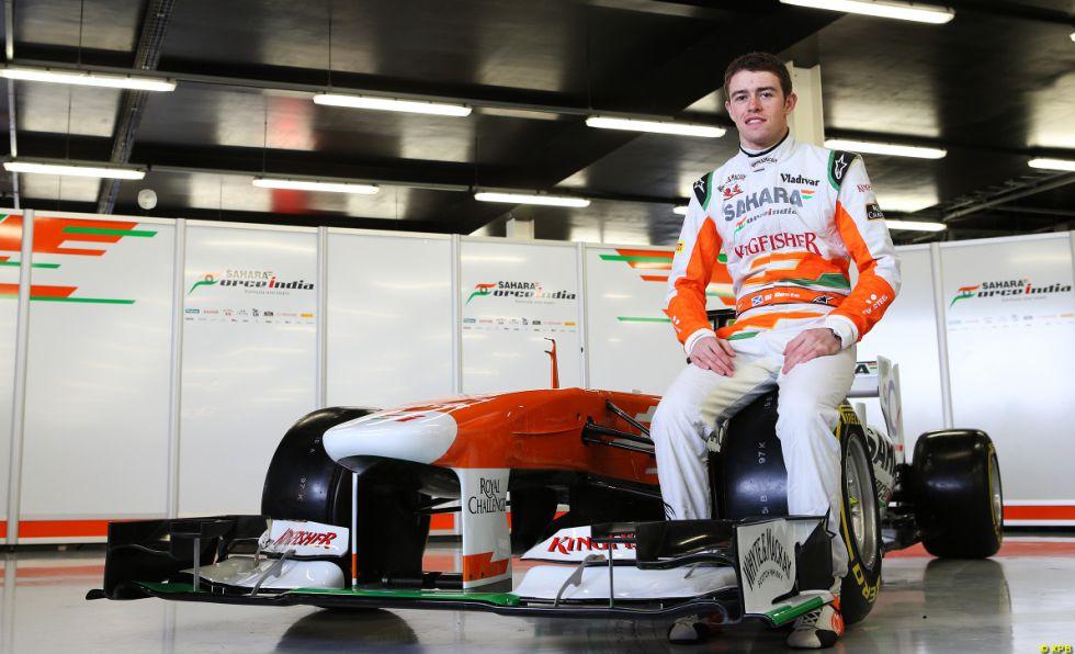 El escocés Di Resta desvela solo el VJM06 de Force India
