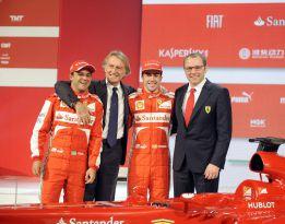 """Montezemolo: """"Un Ferrari con Alonso y Vettel no es posible"""""""