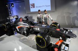 Checo inspiró los pontones 'enanos' del nuevo Sauber